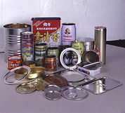 Tin can making machine